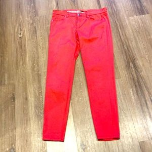 Mango Basic Coral pants in great condition